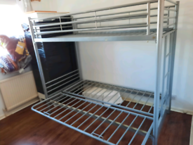 Triple bunk bed frame (delivery available