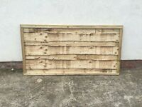 Heavy Duty Pressure Treated Wayneylap Wooden Fence Panels