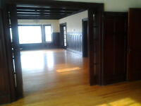 Very large, quiet 2 bedroom with in suite laundry and dishwasher
