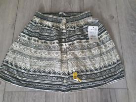 Ladies/Girls Pull&Bear Summer Skirt - Size S - Brand New