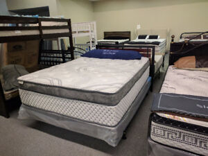 Sarnia Sleep Centre | 16'' EuroTop with Gel Memory Foam