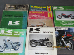 KAWASAKI  SHOP/SERVICE  MANUALS For VINTAGE CLASSICS