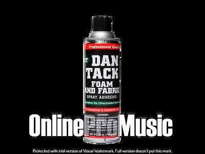 Dan Tack Professional Quality Foam Fabric Spray Glueadhesive Big Can 12.00oz
