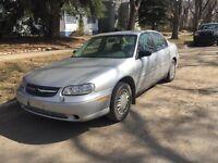 Must sell!!! 2003 Chevrolet Malibu   Low KM!!!