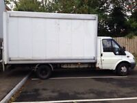 Man&luton box for hire BEST rates giving