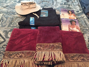 Clothes and Decorative Towels for sale