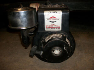 8 Horsepower Briggs and Stratton Engine (missing Gas Tank)