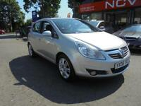 2008 VAUXHALL CORSA 1.2i 16V Design 5 DOOR HATCH