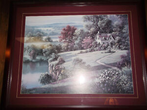 """Framed Picture 43"""" x 43"""""""