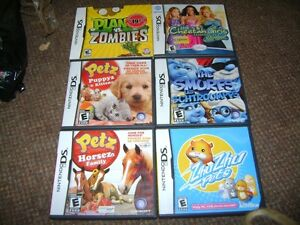 6 DS GAMES