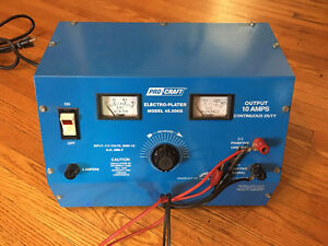 Procraft Electro Plating rectifier model 45-506G