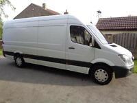 2013 (13reg) Mercedes-Benz Sprinter 316CDI LWB Van, 3500Kg Factory Tow Option