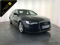 2013 63 AUDI A6 S LINE TDI DIESEL 1 OWNER SERVICE HISTORY FINANCE PX WELCOME