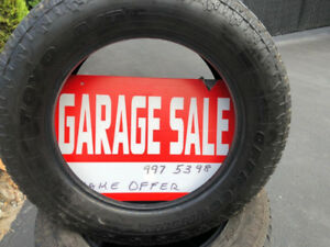 USED light Truck Toyo Tires