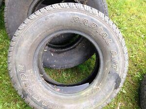 Pneus de camion 245/75/R16