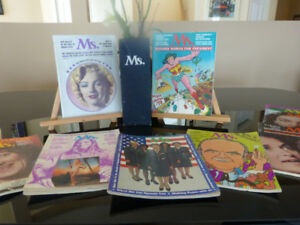 1972-1973 MS MAGAZINE COLLECTION IN CASE