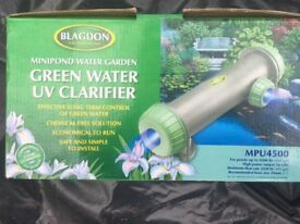 BLAGDON UV POND CLARIFIER