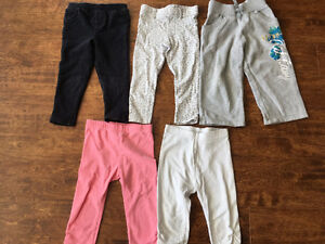 Very cute girls 2T size Jeans and Pants for $25 Oakville / Halton Region Toronto (GTA) image 4
