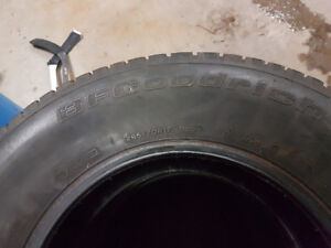 265/70R17 bfg winter tires