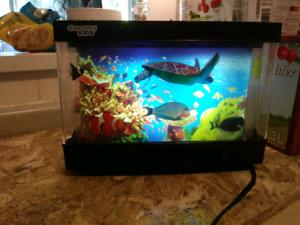 Discovery kids plug in fish aquarium