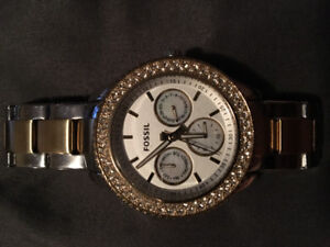 Fossil Watch (Gold and Silver)