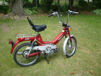 Vintage 1978 Puch Moped
