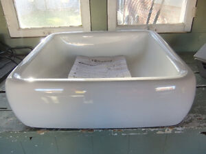 brand new foremost white vessel sink ,bought but never used