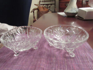Two Small Pinwheel Candy bowls - really lovely