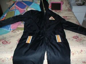 Vintage black snowsuit