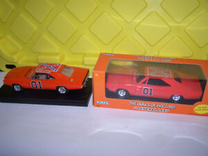 Diecast Dodge Chargers and General Lee and 2000 Monte Carlo