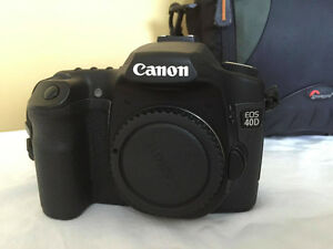 CANON EOS 40D with Lens and Gear Set Kitchener / Waterloo Kitchener Area image 3