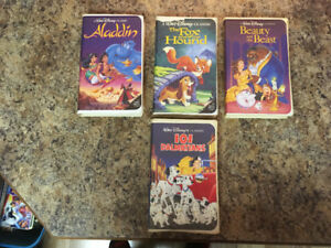 Black Diamond Disney VHS