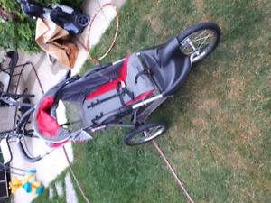 Jogging stroller good condition baby trends expedition