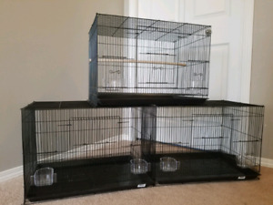 Brand New Cages for Breeding, Travelling or Pets.