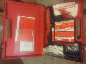 Hilti DX 36 M Powder Actuated Nail Gun Concrete Excellent Cond.