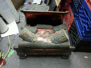 Antique Bronze  Faux fake Fireplace