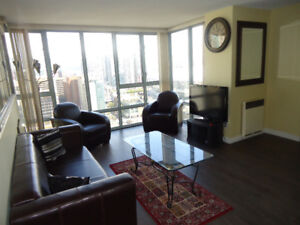 Available now****1 bedroom in a 3 bedroom Condo Fully Furnished