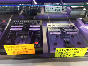 Liquidation de mélangeurs Video professionnel Edirol V4-V8