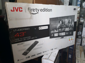 TV 43INCH FIRTV SMART WIFI 4K ULTRA HD HDR WITH BUILT-IN FIRE STICK