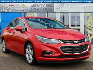 2016 Chevrolet Cruze Premier | Leather | Heated Steering Wheel
