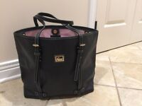 Leather Dooney and Burke tote purse