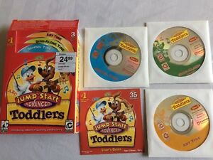 Jumpstart Advanced Toddlers Educational CDs