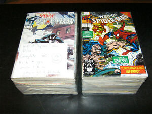 Web of Spider-man volume 1 complete. 139 books. Price reduced!