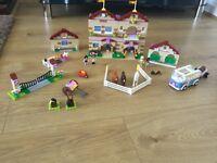 Lego friends ridding school