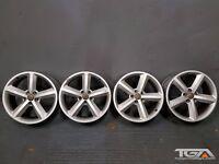 "18"" Audi A4 5 Spoke S-Line Alloy Wheels for a Audi A4 B8 8K0 801 025 Q"