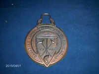 CANADIAN HEROES MEMORIAL FENCING TOURNAMENT WALL PLAQUE-1976