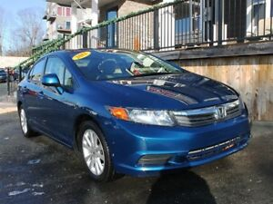 2012 Honda Civic EX / 1.8L I4 / Auto / FWD **Just 77K**