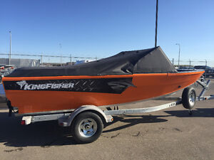 2016 KingFisher 1775 Extreme, Jet River Boat