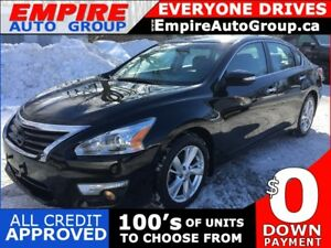 2014 NISSAN ALTIMA 2.5 SL * LEATHER * NAV * REAR CAM * MOONROOF