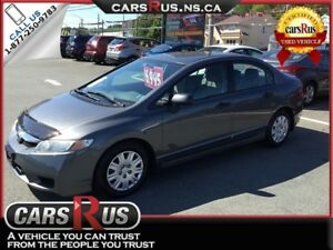 2009 Honda Civic DX      NO TAX sale on now....1 week only!!